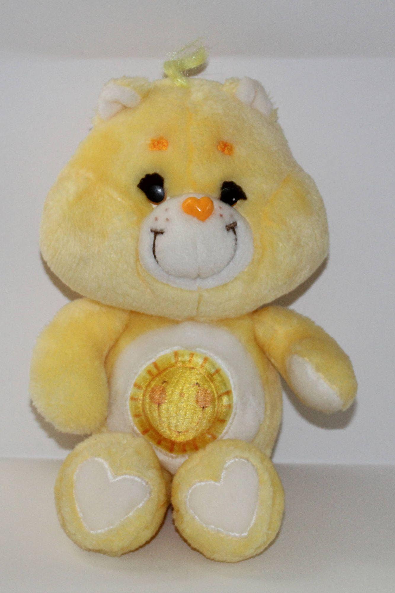 The yellow Birthday Care Bear