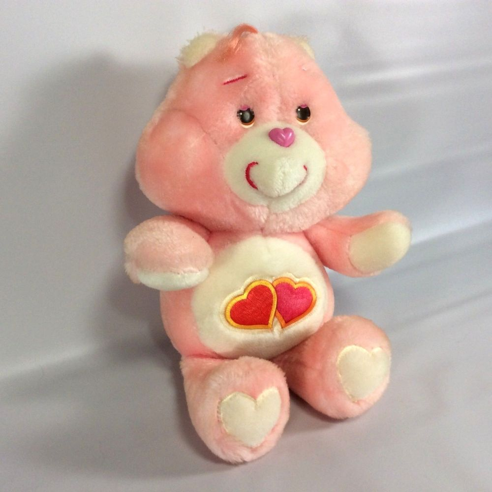 The pink Love-A-Lot Care Bear