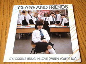 Claire and Friends single It's 'Orrible Being in Love