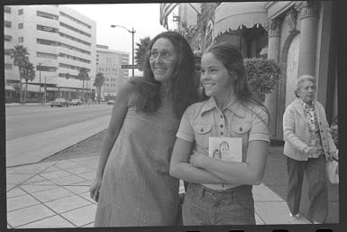 Ally Sheedy with mother Charlotte in New York City