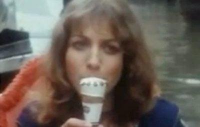 The 1980s Cornetto ice cream advert