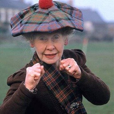Super Gran from the 1980s
