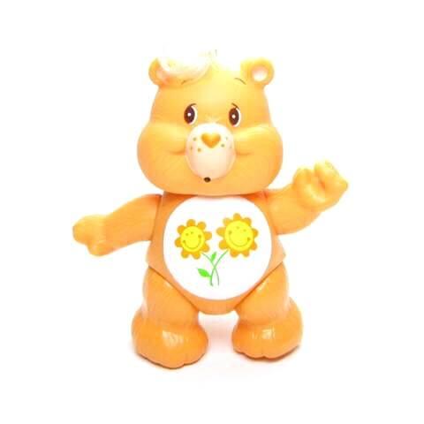 The orange Friend bear Care Bear