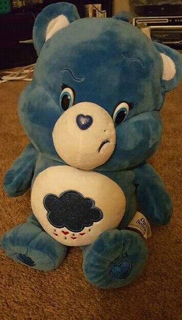 The dark blue Grumpy Care Bear