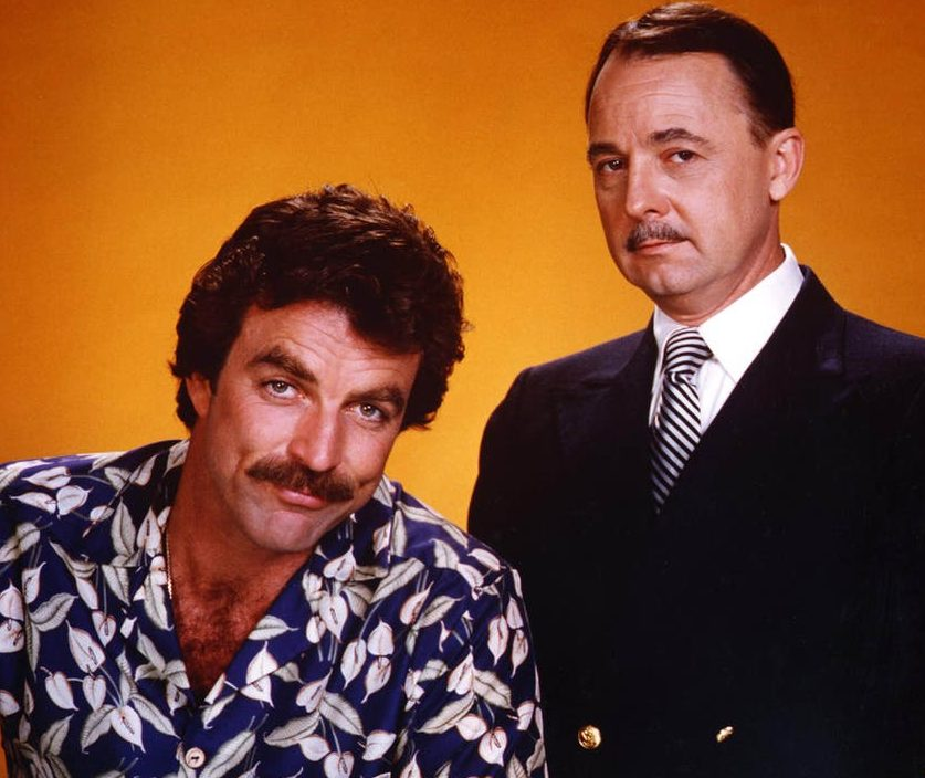 john hillerman tom selleck e1614697554384 25 Things You Didn't Know About Magnum, P.I.