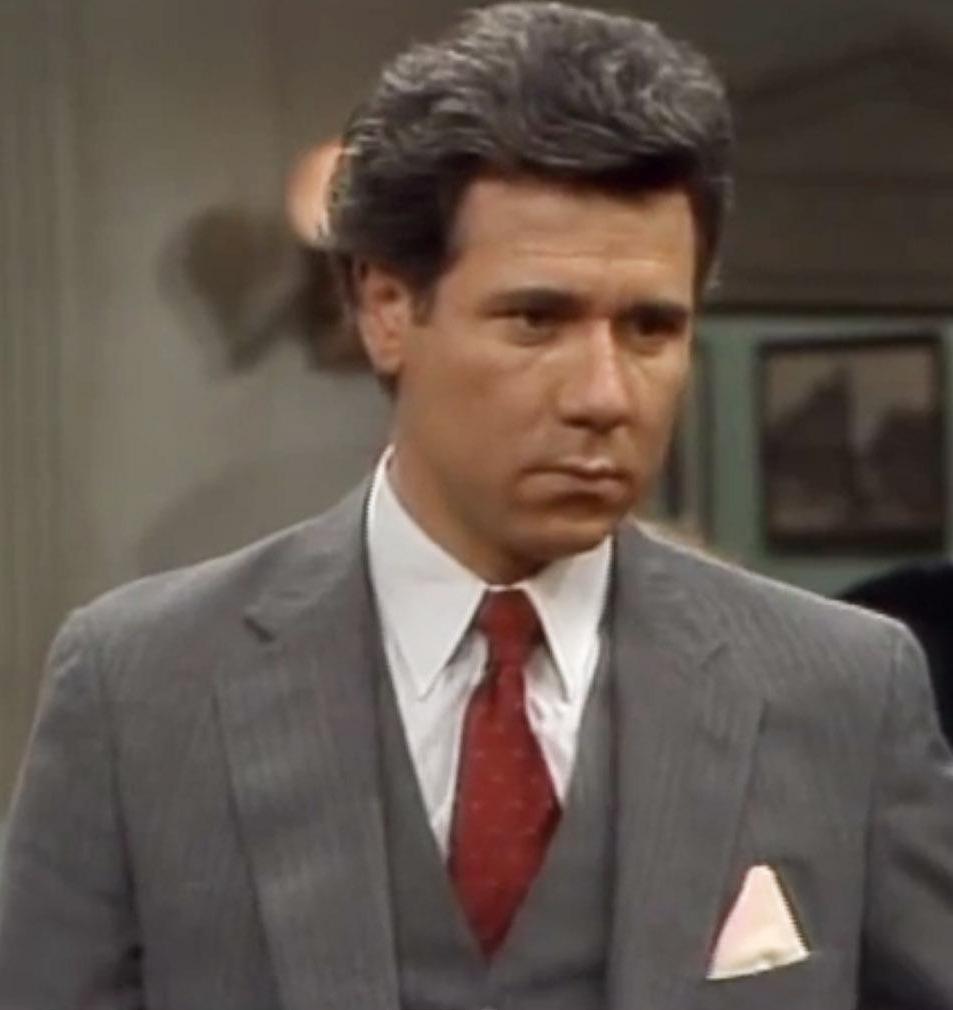 John Larroquette as Dan Fielding in Night Court