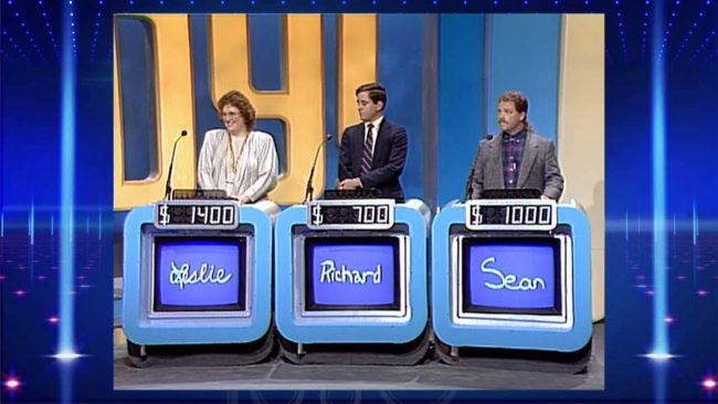 Contestants on Jeopardy!