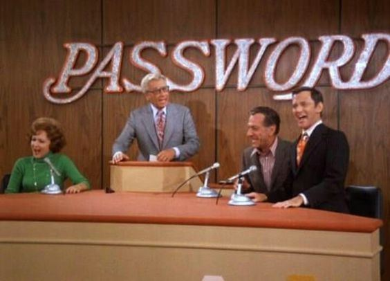 A scene from Password