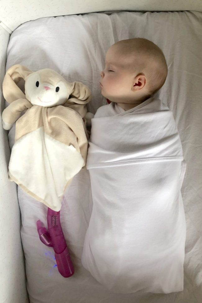 sei 14772805 This Dad Has Found a Controversial Way to Help His Baby Sleep