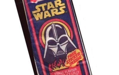 A Star Wars ice cream bar