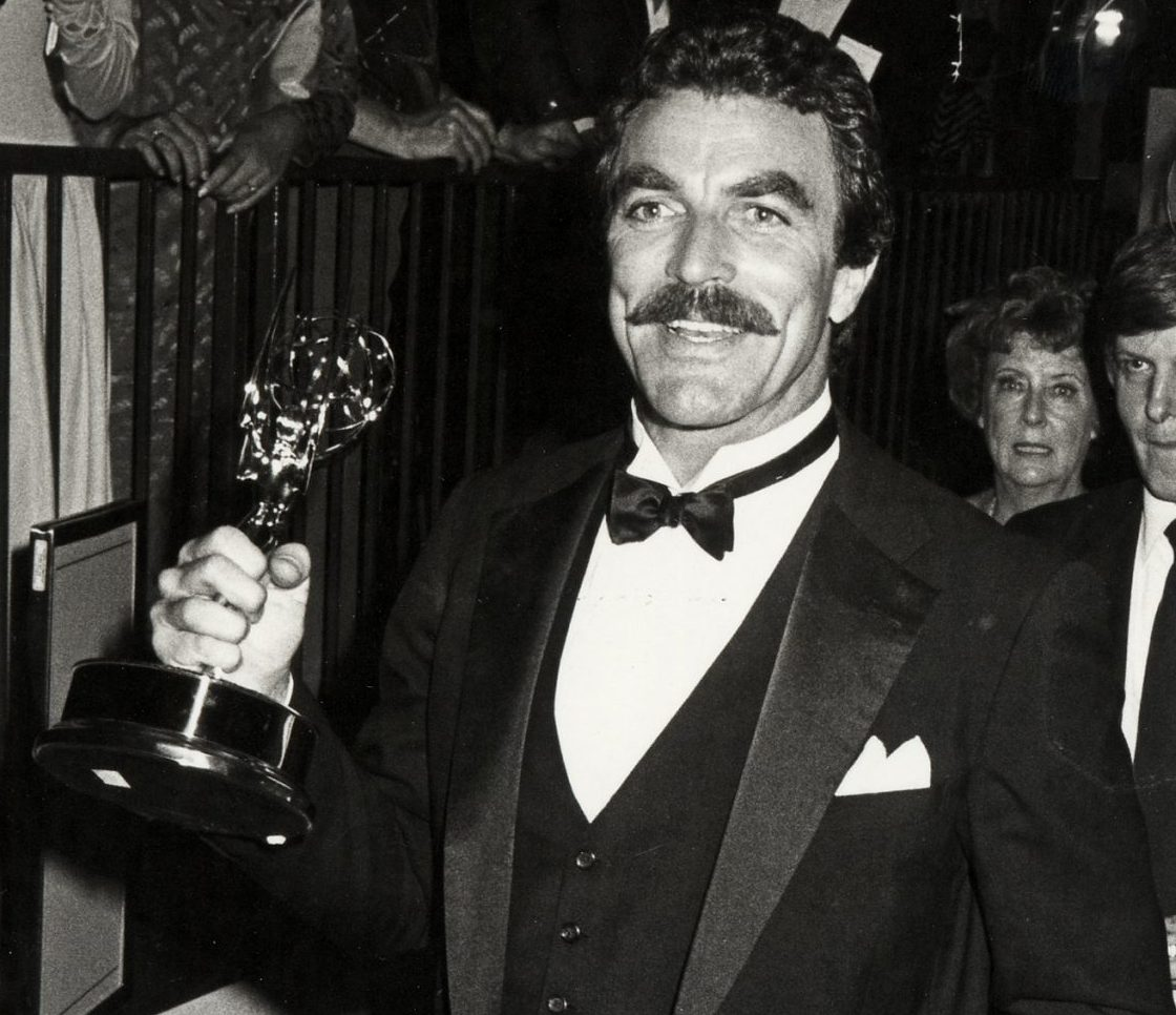 tom selleck emmys 1984 scaled e1614697489201 25 Things You Didn't Know About Magnum, P.I.