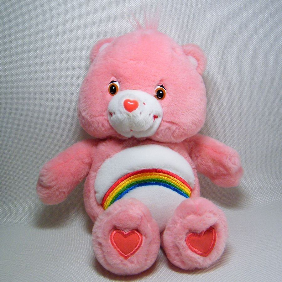 The pink Cheer Care Bear
