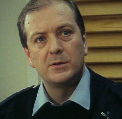 Quigley in action in London's Burning