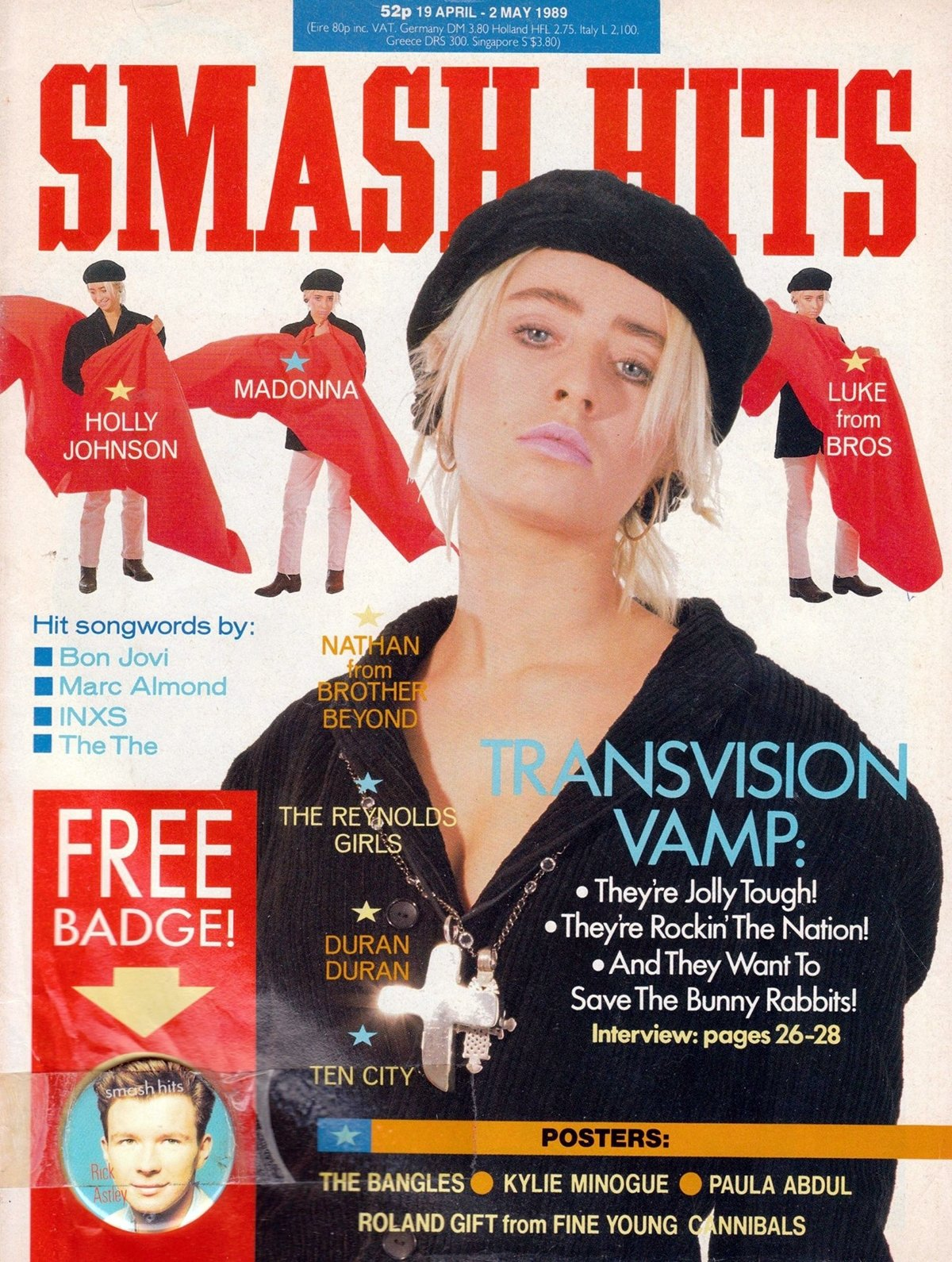 10 3 16 Smash Hits Covers That Will Take You Right Back To Your Youth