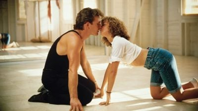 Patrick Swayze and Jennifer Grey in 80s hit Dirty Dancing