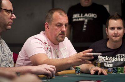 Boatman at a poker tournament