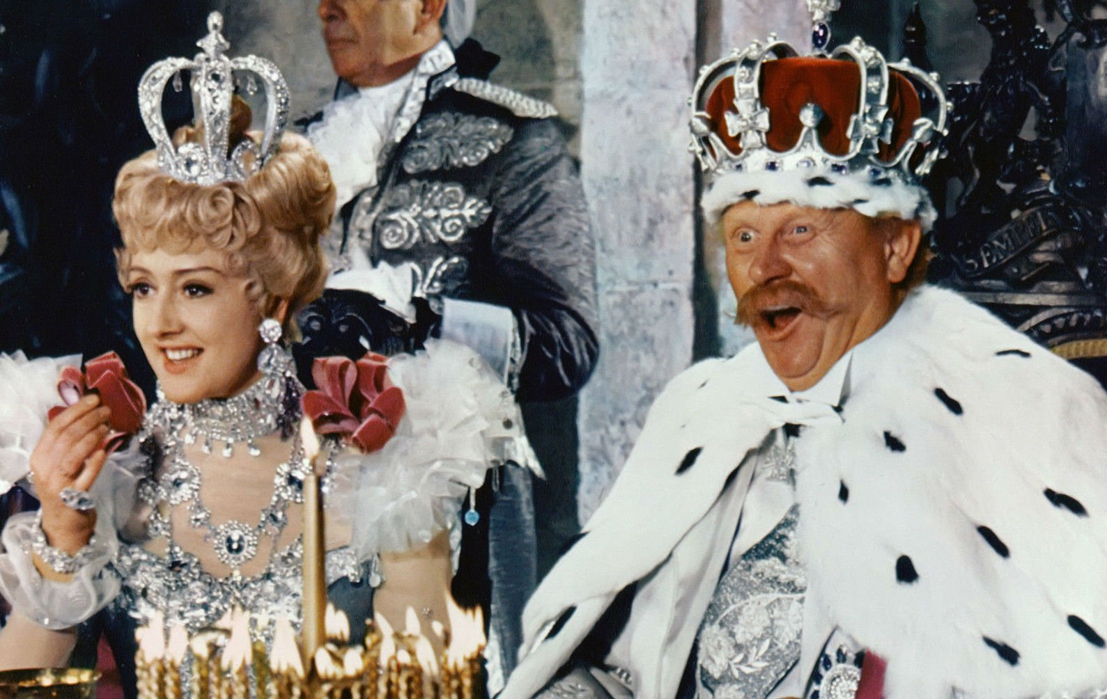 Anna Quayle as Baroness Bomburst in Chitty Chitty Bang Bang