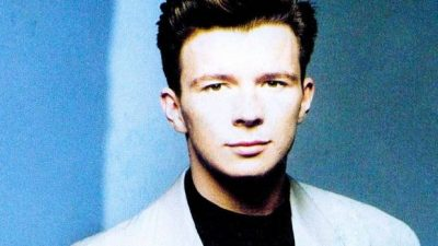 A photo of Astley from the 80s