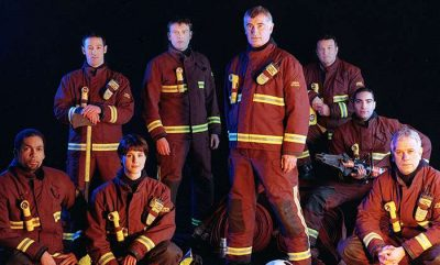 The cast in their uniform