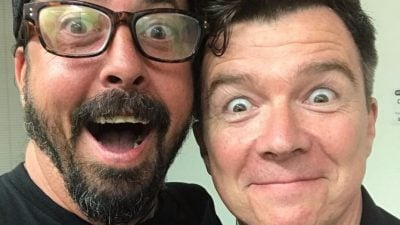 Astley and Dave Grohl