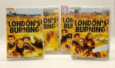 London's Burning dvd covers