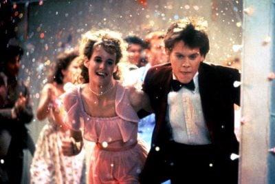 Richard Bacon dancing in Footloose