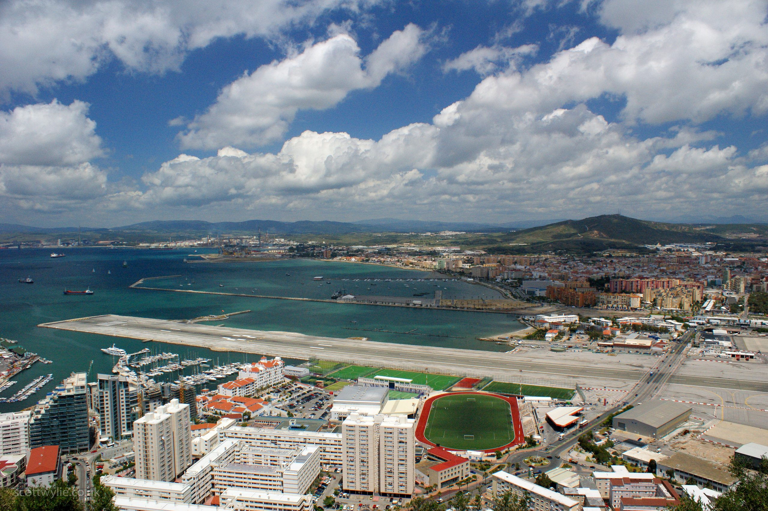 Airport and Stadium in Gibraltar scaled The Top Ten Holiday Destinations Of The 1980s
