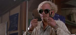 Back to the Future Doc Brown 790x369 Bizarre Fan Theories About Your Favourite 80s Movies