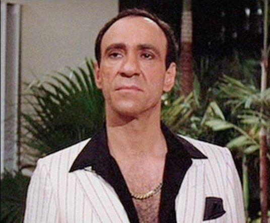 F Murray Abraham as Omar Suarez in Scarface