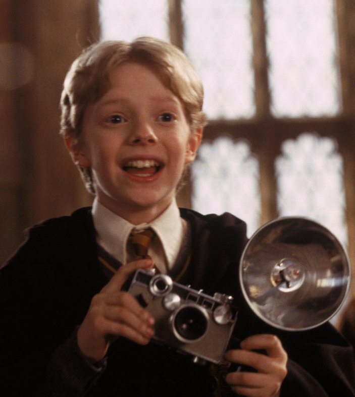 Hugh Mitchell as Colin Creevey in Harry Potter and the Chamber of Secrets film