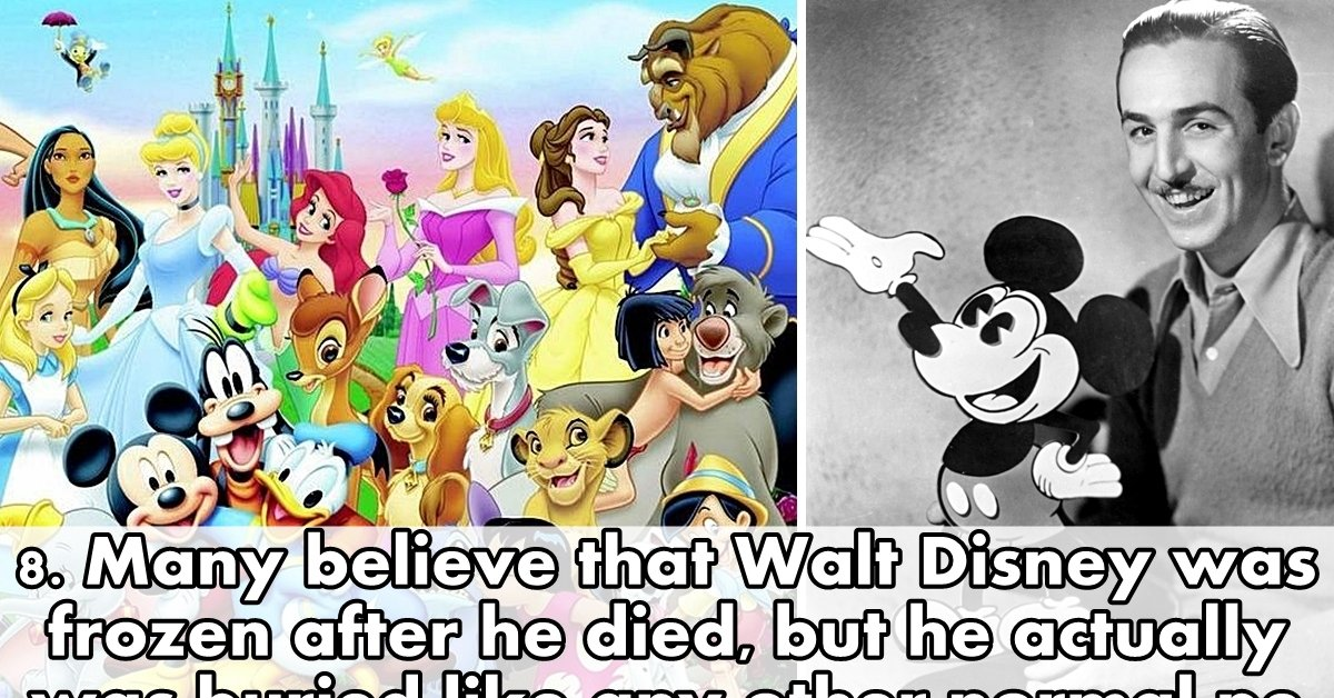 10 Surprising Facts About Walt Disney