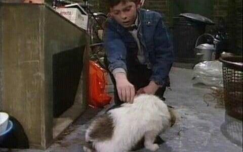 Jonny and his dog Razzle