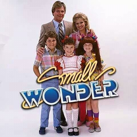 The poster/cover for Small Wonder