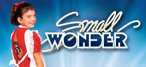 The titles/cover for Small Wonder