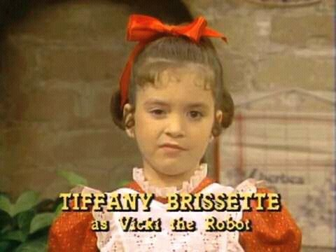 Tiffany Brissette as Vicki the Robot in Small Wonder