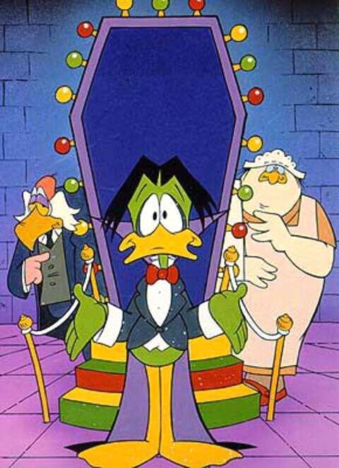 Count Duckula, Nanny and Igor
