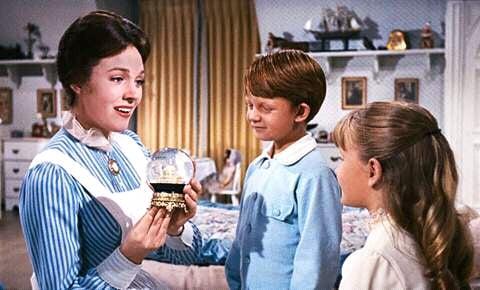 Karen Dotrice and Matthew Garber in Mary Poppins