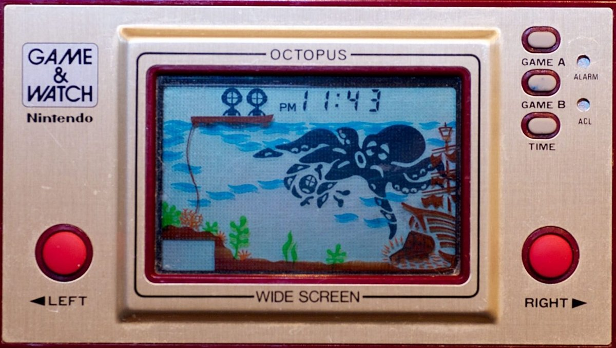 GAMEANDWATCH2 12 Of The Best Handheld Electronic Games From The 1980s