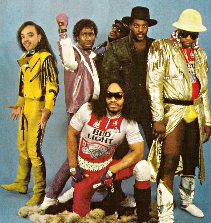 Grandmaster Flash with the Furious Five, circa 1980s