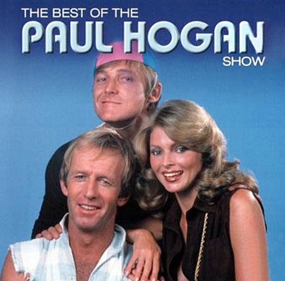 An advert for the Paul Hogan Show