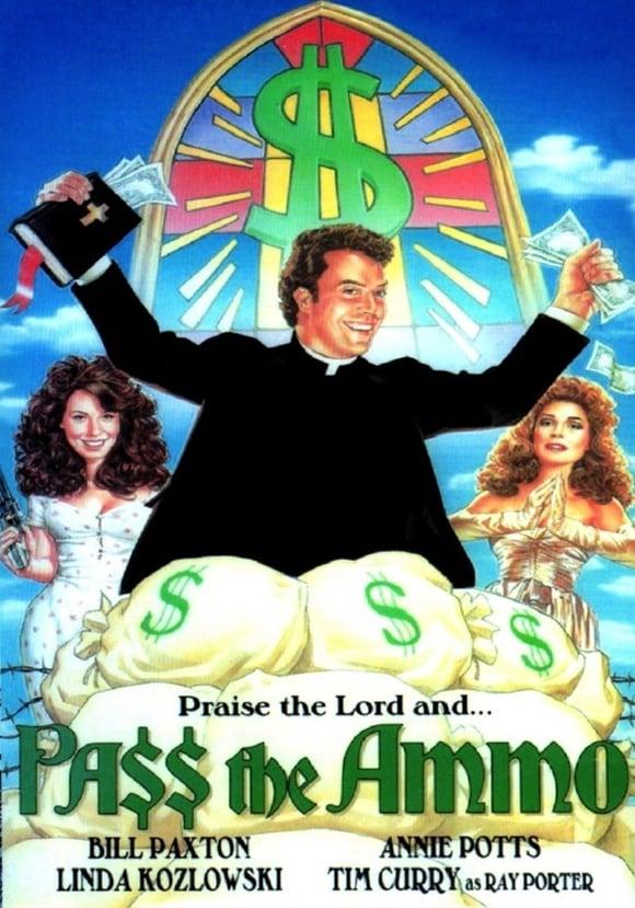 Movie poster for Pass the Ammo starring Kozlowski