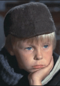 Roy Snart as a child actor
