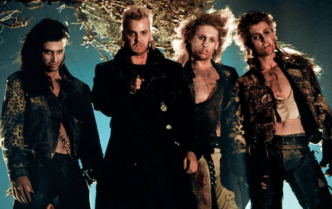 The Lost Boys in action