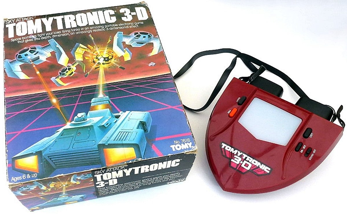 TOMYTRONIC1 12 Of The Best Handheld Electronic Games From The 1980s