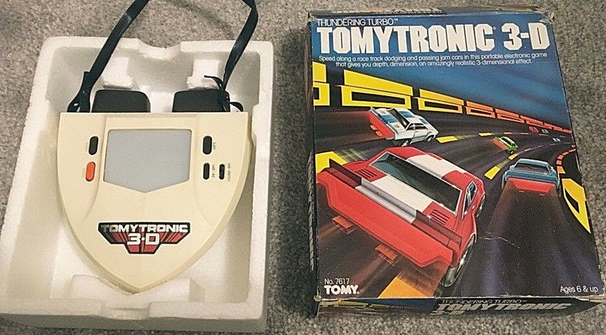 TOMYTRONIC2 12 Of The Best Handheld Electronic Games From The 1980s