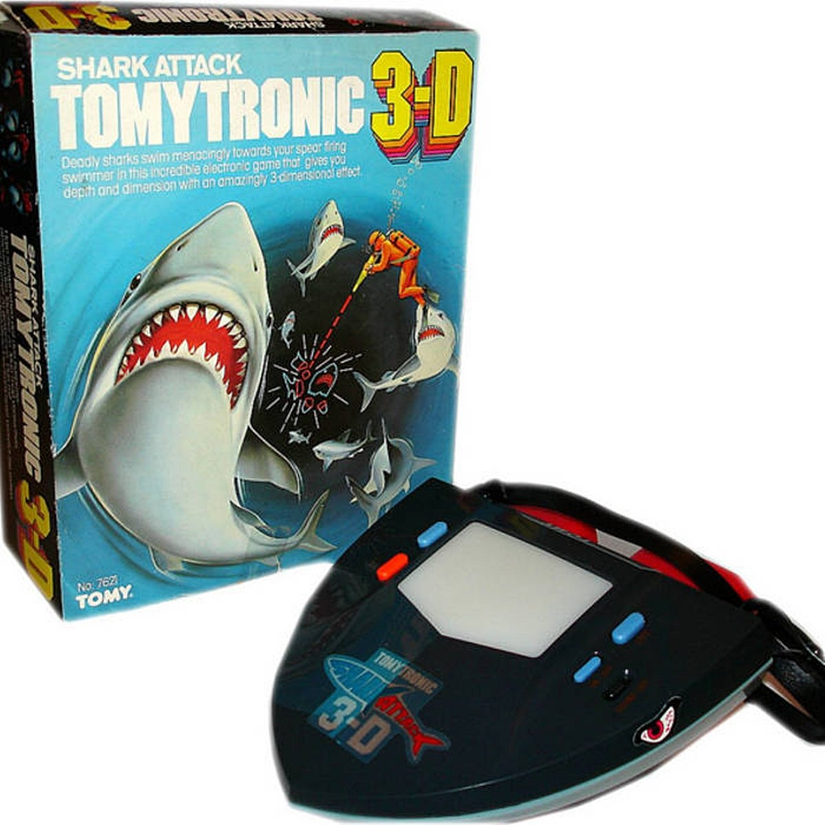 TOMYTRONIC3 12 Of The Best Handheld Electronic Games From The 1980s