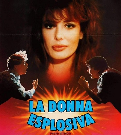 Weird Science Italian poster 20 Things You Probably Didn't Know About Weird Science