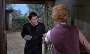 A scene from Bedknobs and Broomsticks