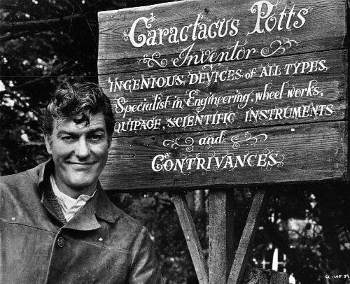 Dick Van Dyke as Caractacus Potts