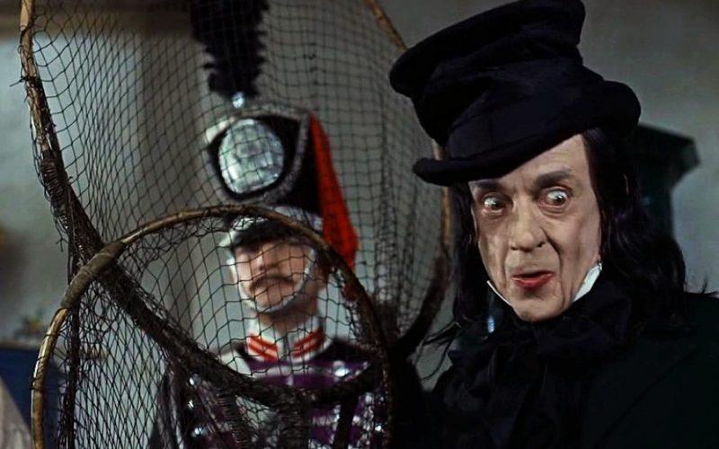 Robert Helpmann as The Child Catcher